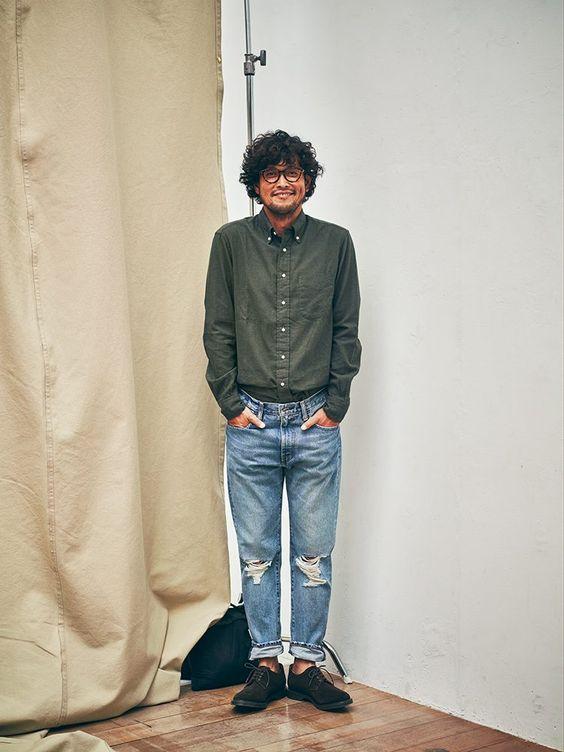 気になる男のシャツイン。「おぼっちゃまくん」にならないための大事なヒント | 37.5歳からのファッション&ライフスタイルマガジン|OCEANS