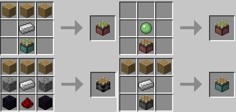 minecraft sticky piston recipe - Google Search | minecraft ...