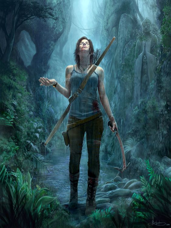 Tomb Raider - Lara Croft by Michael K. Matsumoto