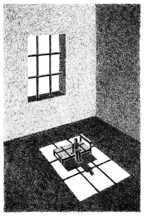 Mario Delucis (©2014 artmajeur.com/mario-delucis) Stampa fine-art su carta cotone 100% firmata dall'autore Tecnica: disegno a penna su carta, digital Dimensioni carta cm 21x29,7 Dimensioni disegno cm 15x23
