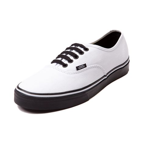 vans authentic shoes black and white