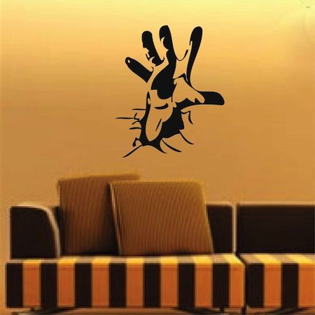 cool wall decals _ trendy wall designs_ abstract wall decal
