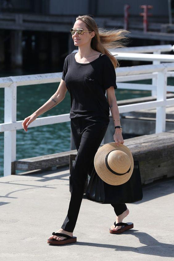 Angelina Jolie (Foto: AKM-GSI BRASIL / Splash News)