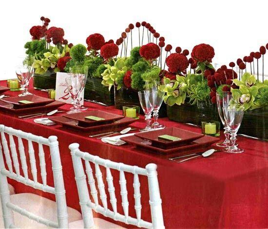 VDay dinner table ideas