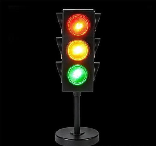 Large Traffic Light Vehicle With Base Stop Go Signal Traffic System Control 8 Largetrafficlight Light Table Lamp Novelty Lighting