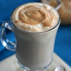 Salted Caramel Latte  Low Carb and Gluten-Free