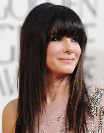 Sandra Bullock Ombre Hair