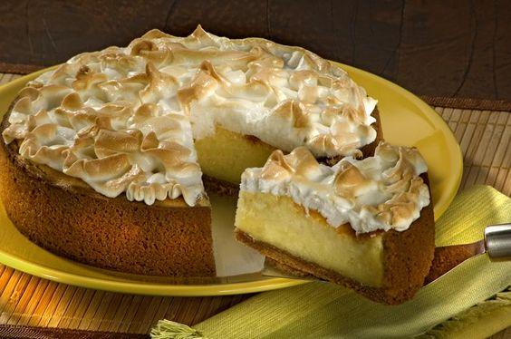 Torta Suflê de Limão | Isabela
