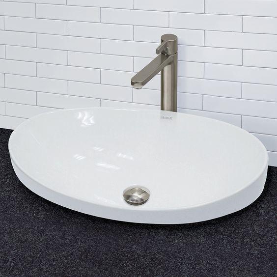 decolav cwh matt muenster exclusive white abovecounter, Home design