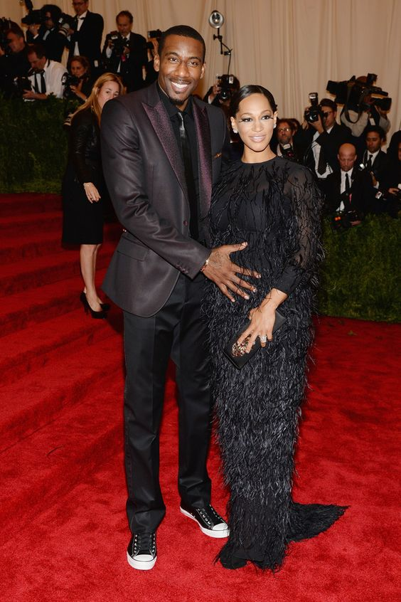 Amar'e Stoudemire Wearing Calvin Klein Collection - 2013 MET Gala | Because I Am Fabulous