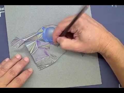 LCAD Teacher Michael Savas Demonstrates Color Pencil Technique Drawing Foil - YouTube