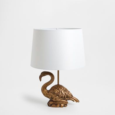 brass flamingo lamp last week new arrivals zara home greece home coastal decor. Black Bedroom Furniture Sets. Home Design Ideas