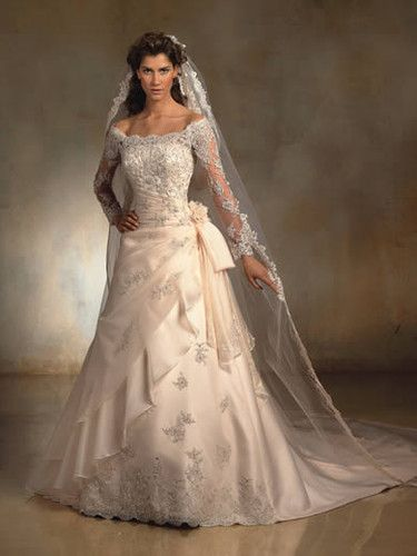 bridal gowns with straps