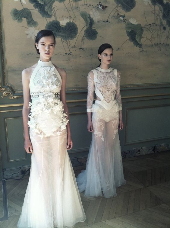 Givenchy haute couture f/w 2011 By Riccardo Tisci: