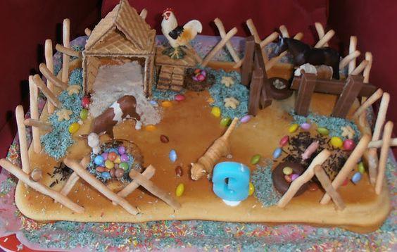 kids parties#farm cake#festas crianças#bolo quinta