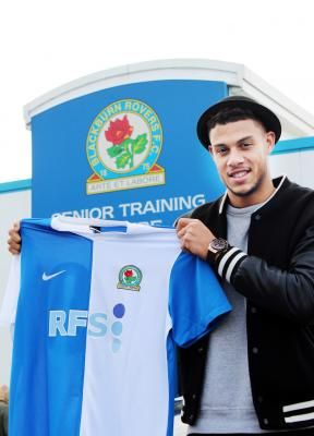 Jan. 2014: Rudy Gestede joins Blackburn from Cardiff City