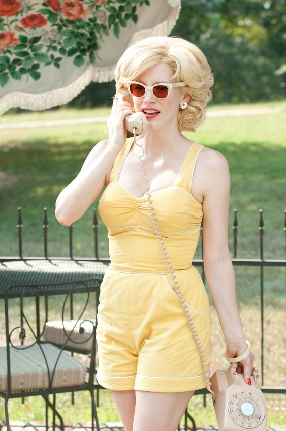 Everything about her was PERFECT in that movie - Jessica Chastain in The Help: