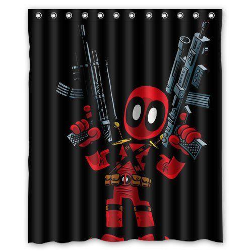 High Grade Game And Comics Deadpool Custom Shower Curtain Https