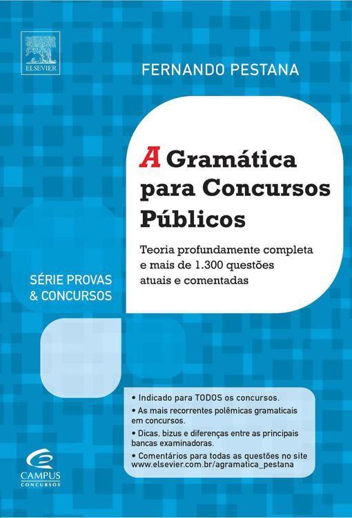 A Gramatica Para Concursos Publicos Fernando Pestana Em 2020