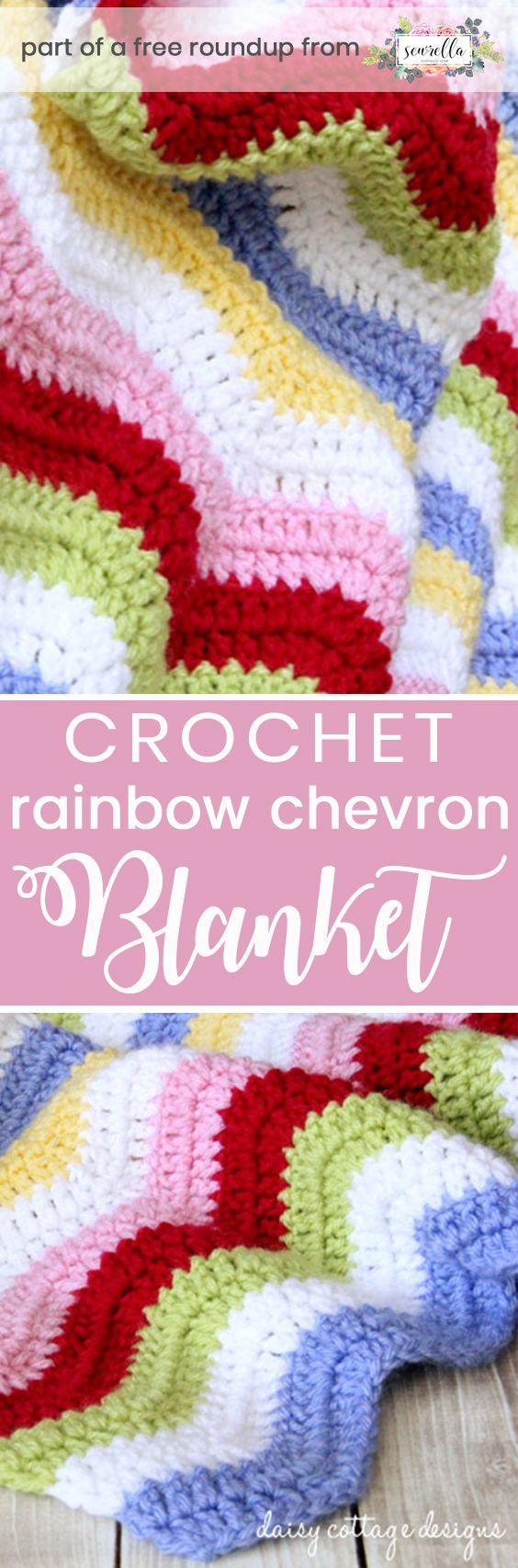 Crochet Rainbow Baby Free Pattern Roundup • Sewrella   Crochet ...