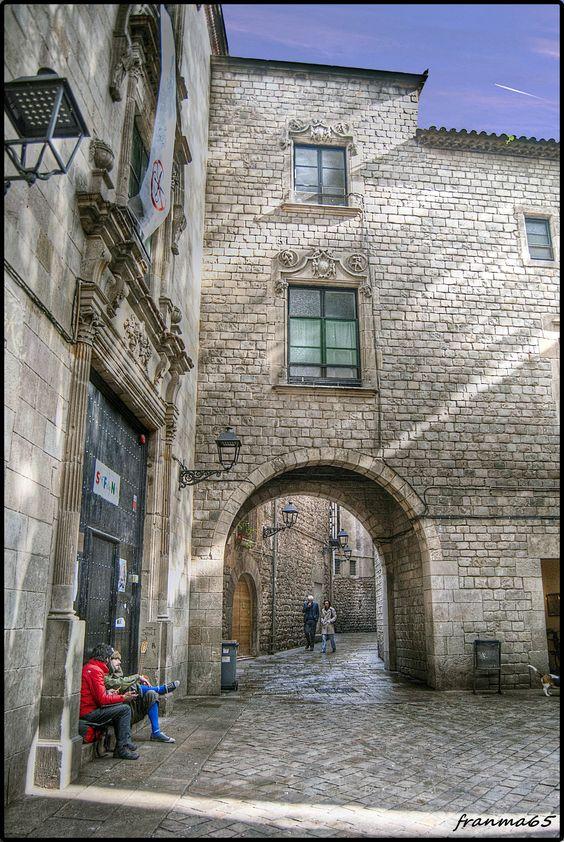 San Felipe Neri. ( Barrio Gótico ) Barcelona,  Cataluña, España