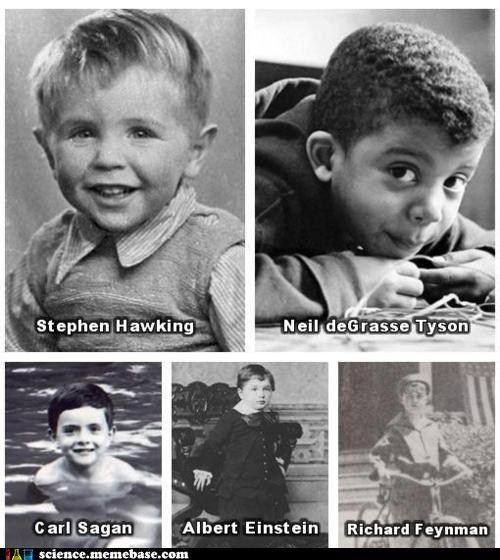 Adorable future physicists