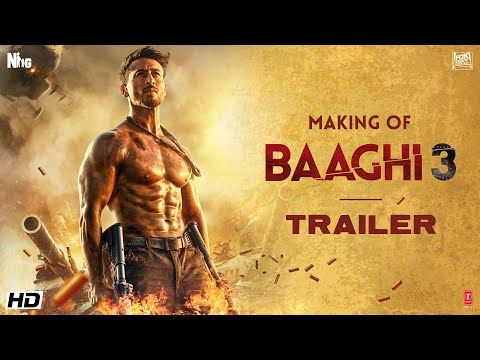 Making Of Baaghi 3 Trailer Tiger Shroff Shraddha Riteish Sajid