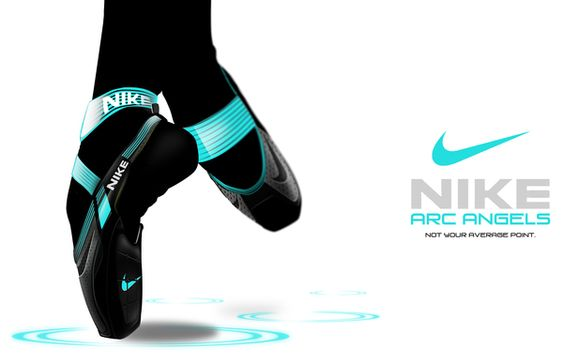 """New Nike """"Arc Angels"""" Pointe Shoes"""