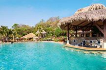 Hilton Papagayo Resort pool - on the Gulf of Papagayo