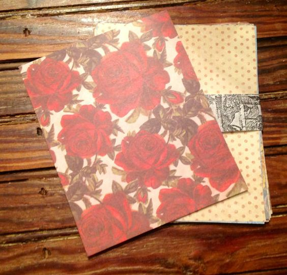 Rose paper for scrapbooking.........ofgfaap by hootnanniesbyjeanne, $3.00