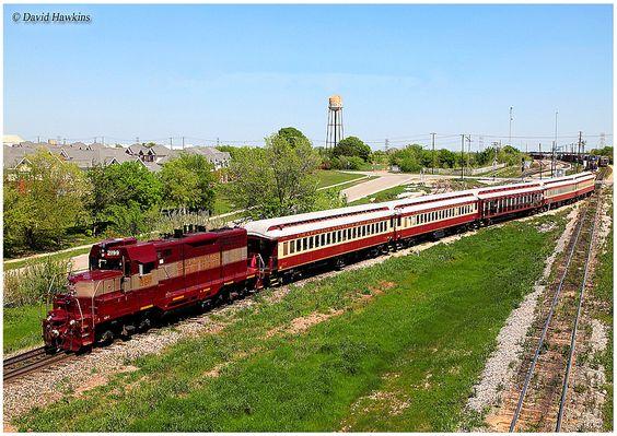 Grapevine Vintage Railroad GP7 #2199