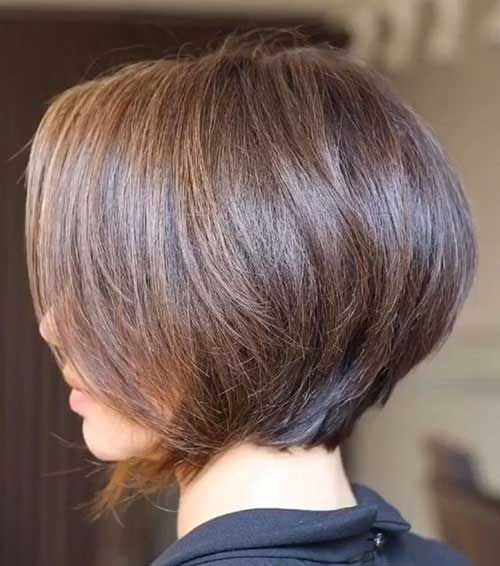 Bob Hairstyle for Fine Hair and oval face