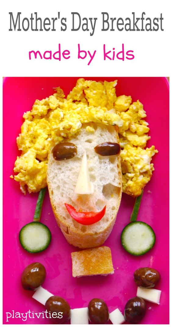 Mother's Day Breakfast Made By Kids - PLAYTIVITIES