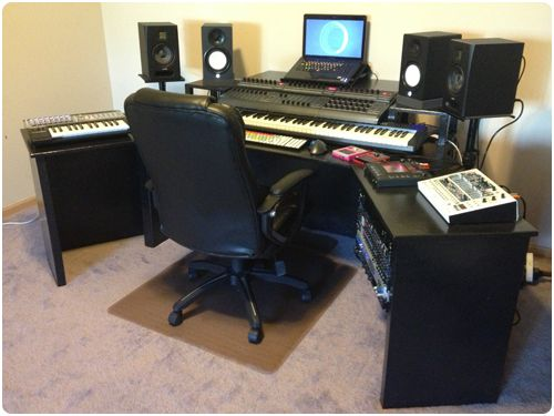 Woodworking Recording Desk Plans Pdf A Visual Bookmarking Tool That Diy Build For Studio More Re