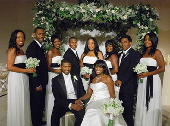 Celebrity Wedding Usher Secretly Marries Longtime Girlfriend