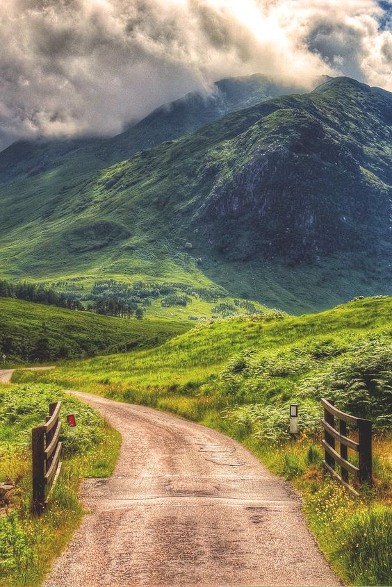 Glen Etive, Scotland ↝ Daniel Casson: