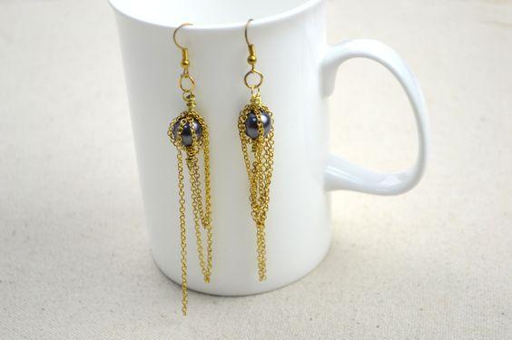Unique design de bijoux – boucles d'oreilles personnalisées faites à la main en perles - Pandahall.com