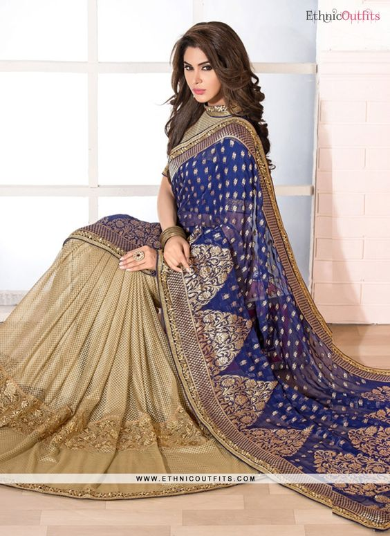 Piquant Patch Border Work Designer Saree  Email- support@ethnicoutfits.com Call - +918140714515 What's app/Viber- +918141377746