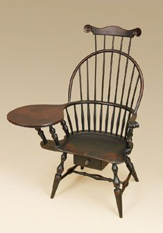 windsor writing armchair this early american style chair is made here