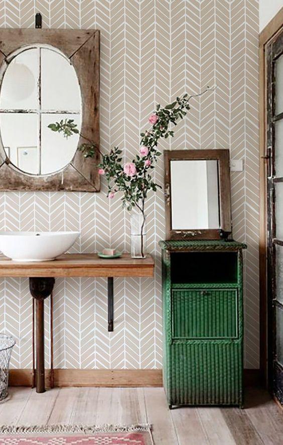 papier peint en vinyle papiers peints and vinyles on pinterest. Black Bedroom Furniture Sets. Home Design Ideas
