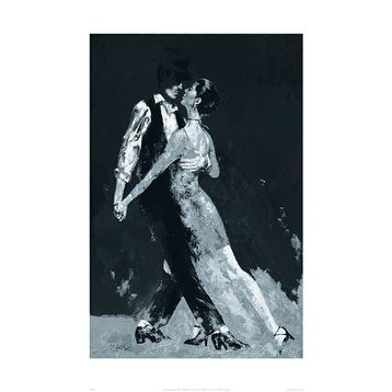''Midnight Tango'' by Terence Gilbert Prime Arts Art Print