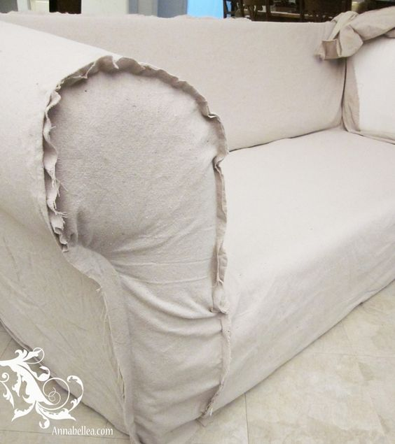 Drop Cloths Drop Cloth Slipcover And Cloths On Pinterest