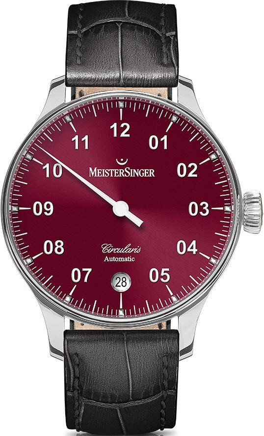 MeisterSinger Watch Circularis Automatic #add-content #basel-16 #bezel-fixed…