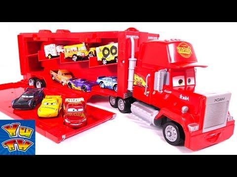 Disney Pixar Cars 3 Toys Movie Big Mack Truck Hauler Car Carry