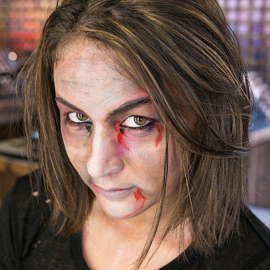 Transform Yourself Into a Zombie With This Gory Tutorial Cats - walking dead halloween costume ideas
