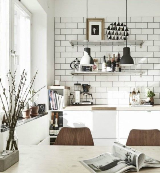 55 Scandinavian Interior Design Ideas Update Your House Into 2019s Style Scandinavian Kitchen Design Interior Design Kitchen Rustic Kitchen Design