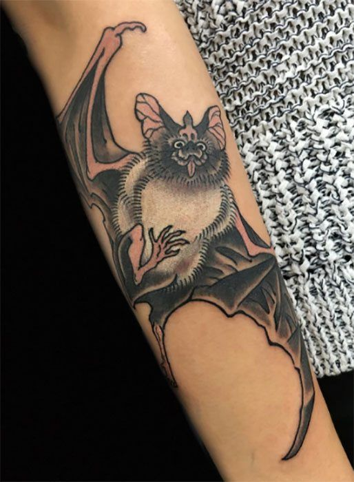 Yutaro blends tradition with constantly evolving imagery // #japanesetattoos…