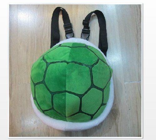 Super Mario Turtle Schildkröte Plüsch Cartoon Cosplay Rucksack-Schultaschen Umhängetasche Bag