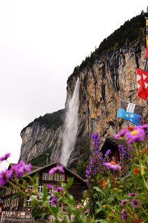 Trümmelbach Wasserfall
