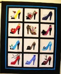 Shoes Quilt: Shoe Quilt, Shoes Quilt, Quilting Patterns, Quilts Quilts Quilts, Sewing Quilts, Quilts Themes, Quilts Whimsical, Crafts Quilts